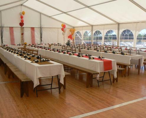 Location de chapiteau et organisation de mariage en Morbihan
