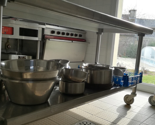 Ty Braz location grand gîte en Bretagne avec cuisine équipée pour groupe