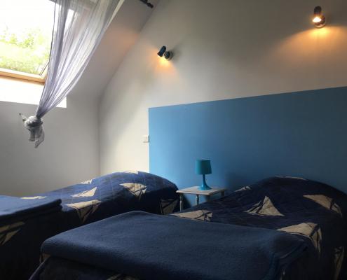 Location gîte de groupe en Bretagne chambre 2 personnes
