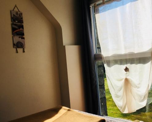 Location gîte de groupe en Bretagne chambre avec salle d'eau privative