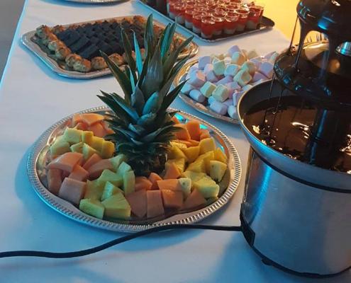 Les Ptits plats dans les grands, traiteur morbihan - Plateau dessert