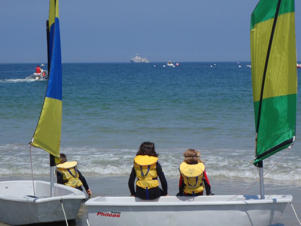Sports nautiques à Kerguelen (Larmor-Plage)