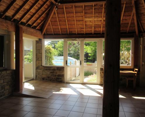 Hall d'accueil et de réception de l'Escale du Blavet