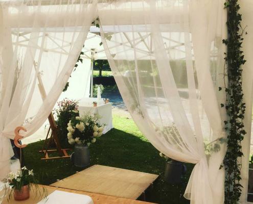 Location grande salle de réception et chapiteau pour mariage en Bretagne