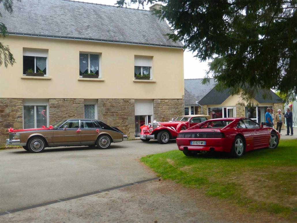 Location grande salle de réception pour mariage en Bretagne avec parking pour voitures